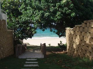 Vieques Island villa photo - Walkway to our beautiful beach