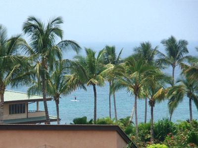 This is a Stand up Paddler, as seen from the Lanai!