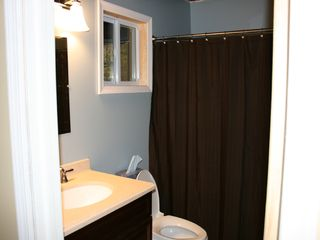 Bushkill house photo - Modern Bathroom with Tub/Shower