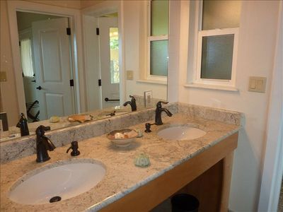 Each Bedroom Has an En-suite Bathroom with Granite Countertops