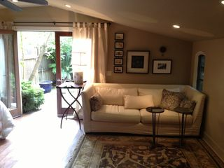 Pasadena studio photo - Living room area.