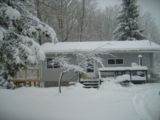 Crystal Mountain, Thompsonville cottage photo - Picturesque Michigan winter at the cottage