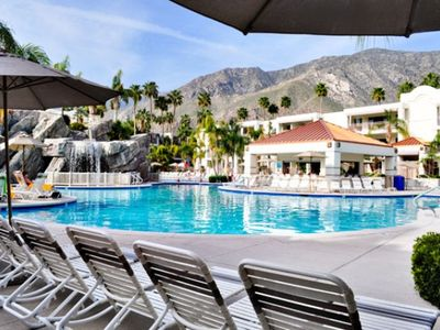 Main Pool at the Palm Canyon Resort