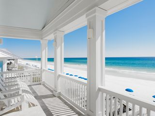 Rosemary Beach house photo - MAIN--One of Our Gulf-Front Porches, & E Beach