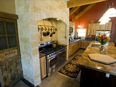 Kitchen Main Lodge -  Granite Counter Top,  Double-Ovens,  Walk in Pantry