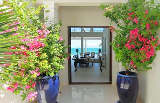 Providenciales - Provo villa photo - Welcome to Azure Villa, beautiful views before you even step in