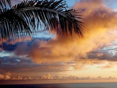 Relax and enjoy a beautiful sunset from your private lanai.