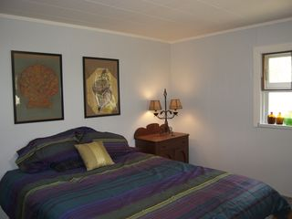 Claryville cabin photo - Queen Bedroom