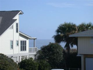Fripp Island house photo - The amazing ocean view from front porch!