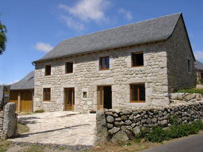 Double Bed totaling 13 beds in Aubrac near Nasbinals