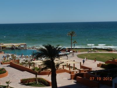 Wow! Look at the Sea of Cortez & Sandy Beach from my luxurious condo! Amazing!