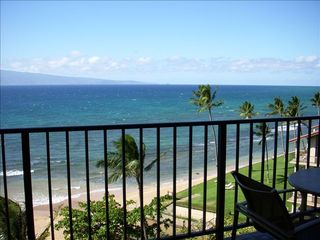 Lahaina condo photo - Direct Ocean View From LR & Lanai