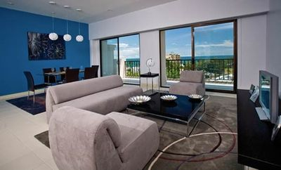 Dining Room and Family Room with Ocean View and Balcony to Sit and Relax.