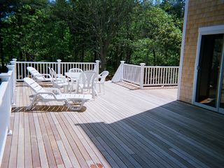 Edgartown house photo - View of New Deck