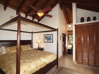Peter Bay villa photo - Both king en suite guest house bedrooms have ample closet space and ocean views
