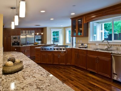 Bellevue villa rental - Chef's Kitchen