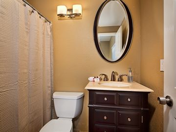 Lower Level Master Suite Bathroom.
