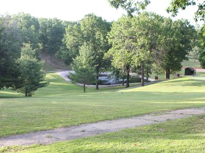 Branson cabin rental - Walking trails throughout the property.
