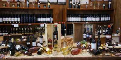 Visit local wineries and sample excellent wine