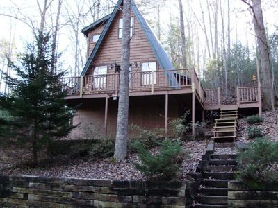 Enjoy a true mountain cabin retreat