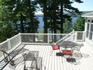 Relax on the massive 40X20 foot deck. - Rome house vacation rental photo