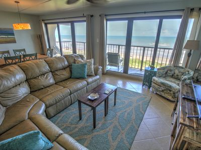 BEACHFRONT 2/2 condo, 2 king master suites, gulf balcony views, JUST UPDATED!
