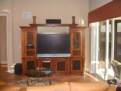 A Full Entertainment Center for Your Pleasure