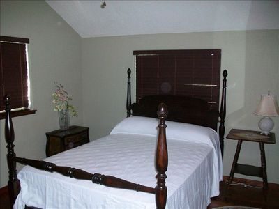 One of three lovely furnished bedrooms