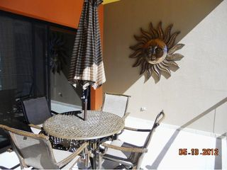 Puerto Penasco condo photo - Patio overlooking the ocean, and pool area.