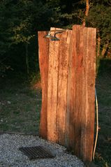 Antognolla farmhouse photo - Outdoor Pool Shower