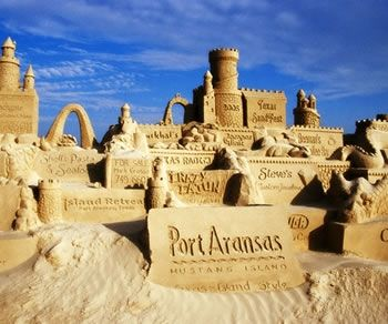 Maybe you could build a sand castle...or watch someone else build one.