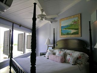 St. Croix villa photo - Enjoy a master suite fit for a king.