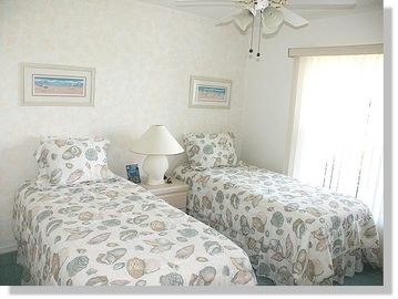 third bedroom of the Villa in Cape Coral, Florida