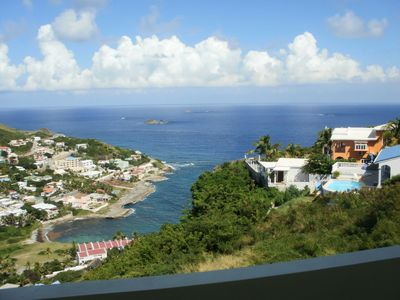 Philipsburg condo rental - Ocean view from your balcony