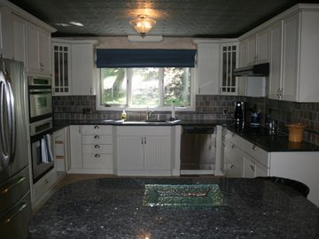 Wintergreen house rental - The kitchen was renovated in 2012