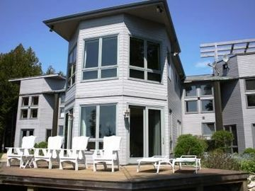 Sister Bay house rental - Marshall's Point - spectacular three bedroom, three and a half bath home!