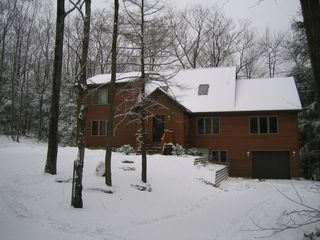 Lee house photo - Our Home--A Winter Wonderland