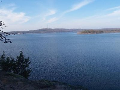 Norfork Lake - over 500 miles of shoreline...