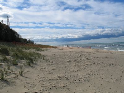 Saugatuck / Douglas cottage rental - Even in the fall, Lake Michigan calls.