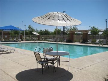 Gilbert house rental - Private community pool with shaded kiddie pool. Next to basketball court.