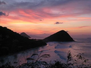 Tortola villa photo - Spectacular Sunset view