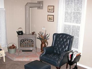 Durango farmhouse photo - Relax next to the gas stove