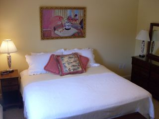 Biddeford house photo - BR #2: King-size, new, high-quality, memory-foam bed, large closet & bureau