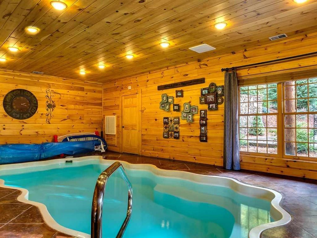 mountain views indoor pool 6 bdr 8 bth vrbo. Black Bedroom Furniture Sets. Home Design Ideas