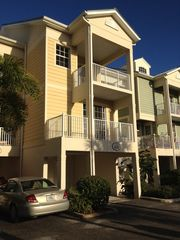 Ruskin condo photo - This is 431 Bahia Beach Blvd. You have a car port and a garage with a BBQ.