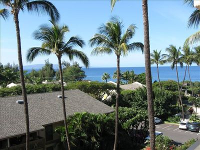 Partial view from our lanai! See it now!!