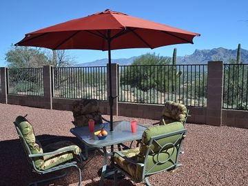 Tucson house rental - Relax and enjoy view of rugged Catalina Mountains