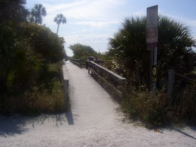 Boardwalk by Gulf....
