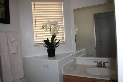 Mesa townhome rental - Unique second bath.
