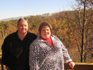 Gatlinburg cabin photo - Owners, Jimmy and Cheryl. We love sharing our cabin with our guests!